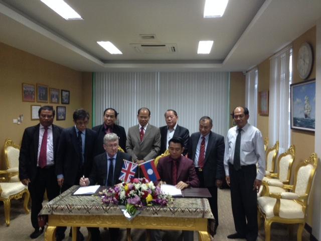 Opening of Claridon Lao Co Ltd